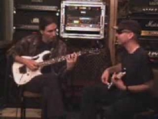 Steve Vai y Joe Satriani a duo